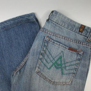 7 Seven For All Mankind Jeans A Pocket Size 29